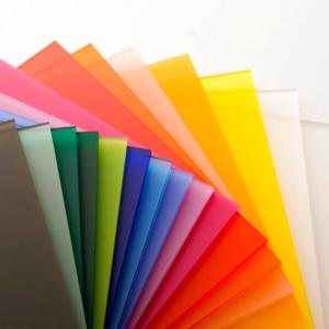 انواع پلکسی رنگی غیر شفاف
