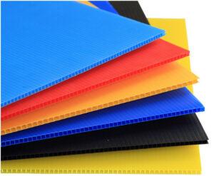 رنگی بندی های مختلف ورق کارتن پلاست